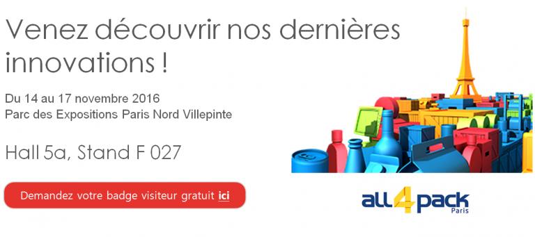 Fair all4pack Paris NOVEXX Solutions