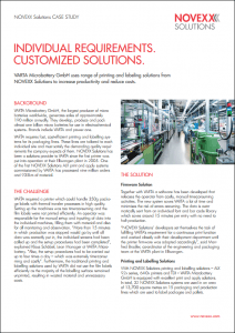 Case studies references NOVEXX Solutions - Varta