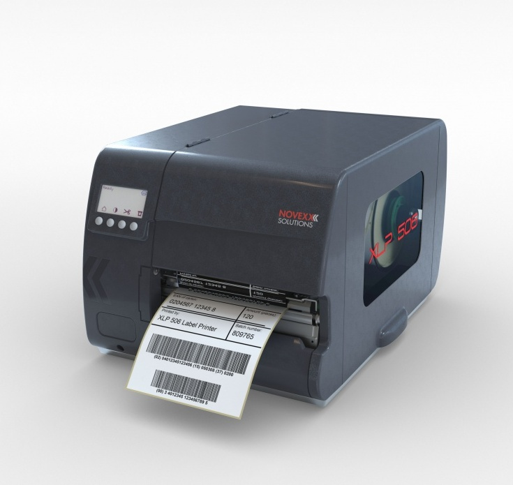 XLP 50x label printer family by NOVEXX Solutions