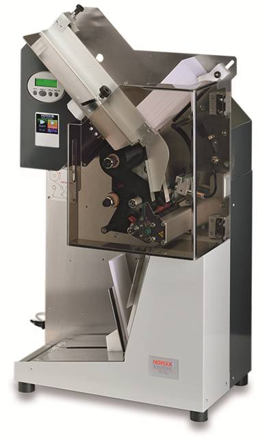 XTP 804 single tag printer by NOVEXX Solutions